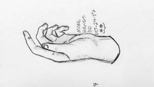 Drawings Of Left Hands Drew some Left Hands for A Warm Up A Drawinga Amino
