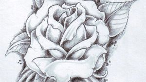 Drawings Of Roses for Tattoos Black Rose Arm Tattoos for Women Rose and Its Leaves Drawing