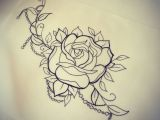 Drawings Of Roses Tattoos Rose and Beads Tattoo Pinterest Tattoos Rose Tattoos and