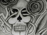 Drawings Of Skulls with Roses Skull Roses A C Simon Dessins Black White by Simon Pinterest