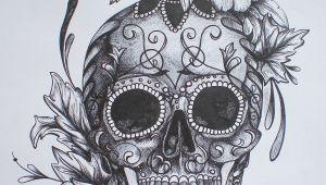 Drawings Of Sugar Skulls and Roses Pin by Puddykat On Sugar Skull Art Tattoos Skull Tattoos