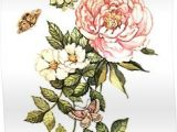 Drawings Of Vintage Flowers Watercolor Vintage Floral Motifs Poster by Anna Yudina Products