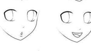 Easiest Anime Characters to Draw Anime Style Heads Drawing Not Mine Anime Expressions