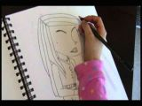 Easy 5 Year Old Drawings 8 Year Old Girl Free Hands original Picture Of Young Woman Youtube