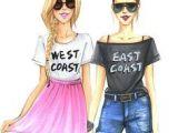 Easy Bff Friendship Cute Drawings 30 Best Friend Sketches Images Best Friend Drawings