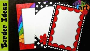 Easy Border Designs for School Projects to Draw Britto Border Designs On Paper Border Designs Project