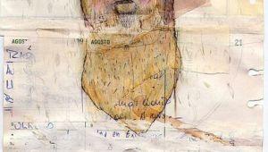 Easy Collage Drawing Ideas Paper Paint Bear Art Journal Page by Die Die Art