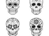 Easy Day Of the Dead Skull Drawings Candy Skull Images Stock Photos Vectors Shutterstock