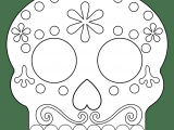 Easy Day Of the Dead Skull Drawings Pin by Red Rose On Halloween Day Of the Dead Mask