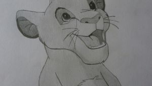 Easy Draw King Simba the Lion King by Voja96