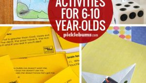 Easy Drawing Ideas for 10 Year Olds Ten Easy Activities for 6 10 Year Olds Fun Activities to Do with