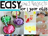 Easy Drawing Ideas for 4 Year Olds 16 Easy Art Projects for Your 1 Year Old Kid Blogger Network