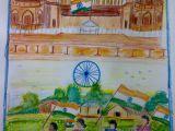 Easy Drawing Independence Day Sajal Sajaldawer On Pinterest