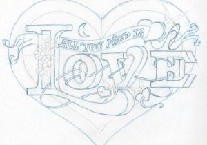 Easy Drawing Love Hearts Cute Love Drawings Dr Odd