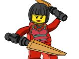 Easy Drawing Ninjago How to Draw Nya From Ninjago Step by Step Drawing Tutorials