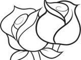 Easy Drawing Of A Rose Bud How to Draw A Rose Step by Step Easy Google Search Draw