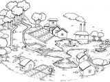Easy Drawing Of Ecosystem Strengthening Resilience In Post Disaster Situations