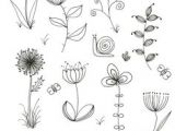 Easy Drawing Of Flower Garden 368 Best Flower Line Drawings Images Lotus Tattoo Tattoo
