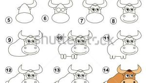 Easy Drawing Of Yak How to Draw A Yak Nona Drawings Painting Es Art Tutorials