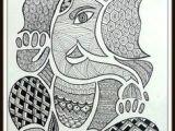 Easy Drawing Vinayagar 36 Best Ganesh Drawing for Kids Images Ganesha Art Elephants