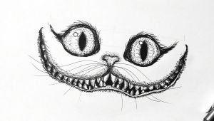 Easy Drawings Alice In Wonderland Cheshire Cat Alice In Wonderland Sketch Drawing Art