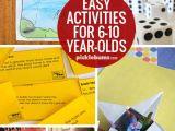 Easy Drawings for 7 Year Olds Ten Easy Activities for 6 10 Year Olds Fun Activities to Do with