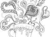Easy Drawings for Adults Heart Coloring Pages for Adults Beautiful Coloring Page for Adult Od