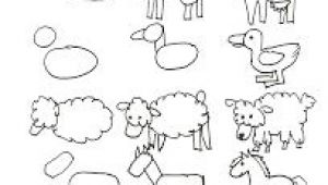 Easy Drawings for Art Class Drawing Simple Farm Animals Drawing Drawings Drawing Lessons Art