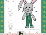 Easy Drawings for Grade 3 Easter Art Activities Spring April Directed Drawings Drawing