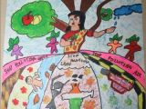 Easy Drawings for School Magazine Drawing Competition 2015
