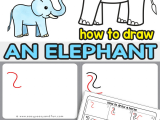 Easy Drawings for Your Teacher How to Draw An Elephant A Step by Step Elephant Drawing Tutorial