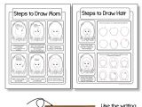 Easy Drawings for Your Teacher Mother S Day Card Drawing Mom Directed Drawing with Choices Art