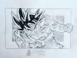 Easy Drawings Goku Goku Ultra Instinct Drawing Sketchy for Sketching In 2019
