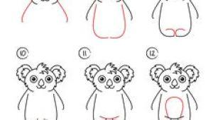 Easy Drawings Koala 50 Best Easy Drawing Steps Images Easy Drawings Step by Step