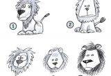 Easy Drawings Lion King Drawing A Cartoon Lion Doodles and Such Pinterest Drawings