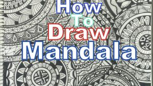 Easy Drawings Mandala How to Draw Complex Mandala Art Design for Beginners Easy Tutorial