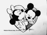 Easy Drawings Mickey Mouse Minnie Mouse Easy to Draw Prslide Com