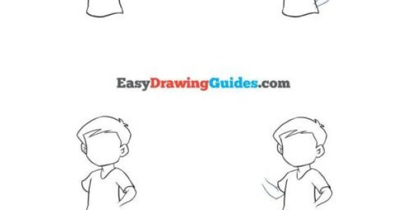 Easy Drawings Of Boys How to Draw A Boy Drawing Tutorials for Kids Easy