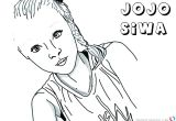 Easy Drawings Of Jojo Siwa Jojo Siwa Coloring Pages Great Free Clipart Silhouette Coloring