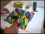 Easy Drawings with Poster Colours How to Make A Scratch Drawing Youtube