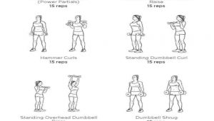 Easy Dumbbell Drawing 15 Super Easy Workouts to tone Your Arms at Home Good Arm