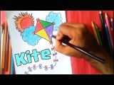 Easy Hard Drawings How to Draw A Kite Easy Drawing Youtube