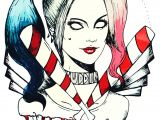Easy Harley Quinn Drawing Outline Harley Quinn Tattoo Designs Best Tattoo Ideas