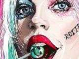 Easy Harley Quinn Drawing Pin On Joker S