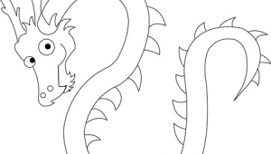 Easy Jeffy Drawings How to Draw Chinese Dragons with Easy Step by Step Drawing Lesson