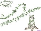 Easy Jungle Drawings Drawings Of Flowers Leaves and Vines to Draw Vines Step by Step