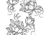 Easy Lotus Drawing Japanese Lotus Tattoo Design Creative Commons attribution