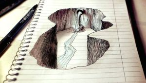 Easy Notebook Drawings Amazing Notebook Doodle Art the Creative Post Amazing Drawings