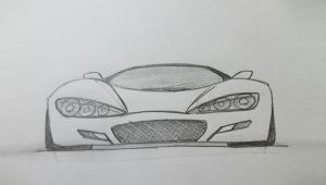 Easy Race Car Drawing How to Draw A Sports Car Easy
