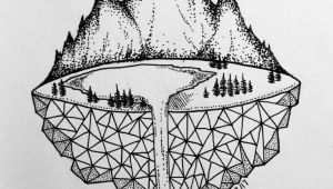 Easy Science Drawings Micron Mountains Easy Pen Drawing Easy Animal Drawings